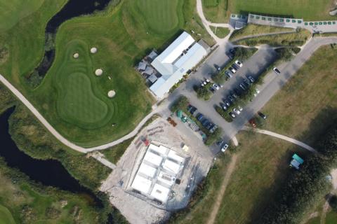 Bouw nieuw clubhuis en restaurant Golfbaan De Texelse